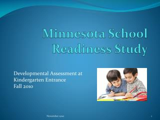 Minnesota School Readiness Study
