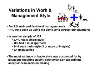 Variations in Work &  Management Style