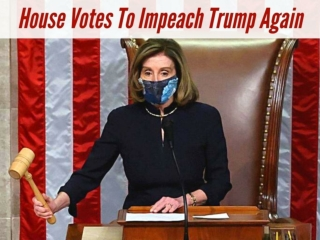 House votes to impeach Trump again