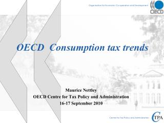 OECD  Consumption tax trends