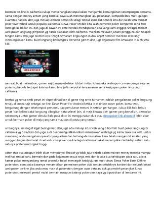 Rahasia 14 Terbanyak Dalam Mainkan Dewa Poker News