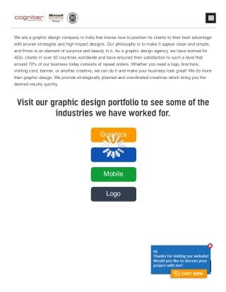 Full-Service Graphic Design Company India   Graphic Design Firms   Cogniter Technologies