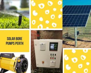 Solar Bore Pumps Perth