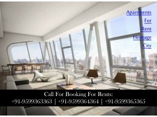 Apartments for Rent on MG Road Gurgaon Call:+91-9599363363 |