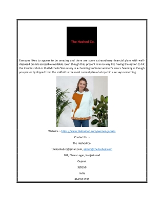 Buy Latest Design Womens Hoodie Online | Thehashed.com