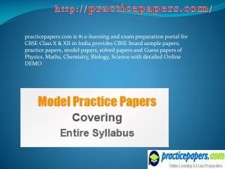 12th class sample paper