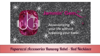 Paparazzi Accessories - Red Necklace