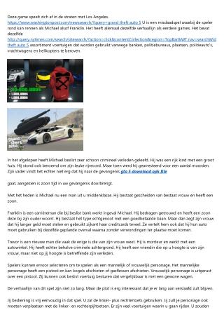 GTA 5 - Download hier