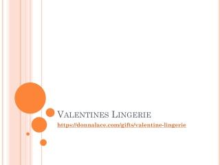Valentines Lingerie   Sexy Lingerie   Lingerie   Donnalace