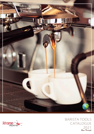 Krome Dispense Coffee Products