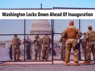 Washington locks down ahead of inauguration