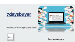 Buy Solo Ad Traffic