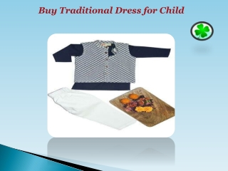 Buy Traditional Dress for Kids