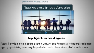Top Agents in Los Angeles