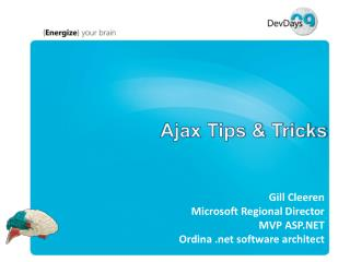 Ajax Tips & Tricks