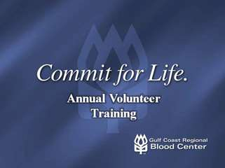 2010 Annual Volunteer Training