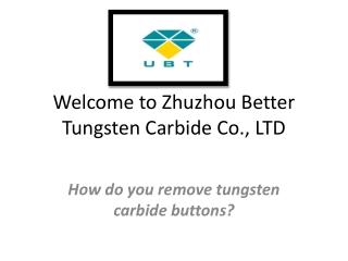 Carbide button, Tungsten carbide button, - itungstencarbide.com