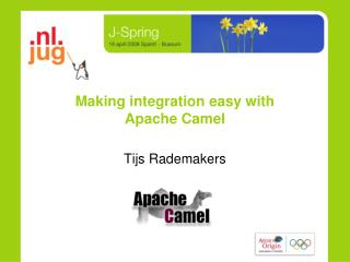 Making integration easy with  Apache Camel