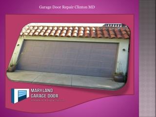 Garage Door Repair Clinton MD