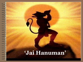 Presentation on Lord Hanuman