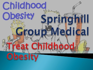 "Springhill Group Seoul Korea:  ""Treat Childhood Obesity"