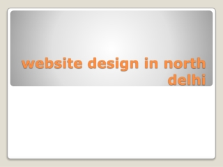 website design in north delhi