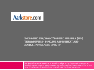 Idiopathic Thrombocytopenic Purpura (ITP) Therapeutics - Pip