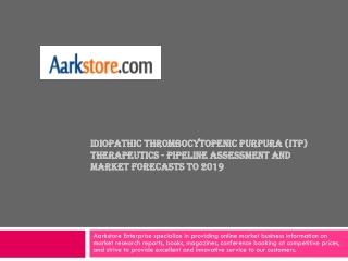 Idiopathic Thrombocytopenic Purpura (ITP) Therapeutics - Pip