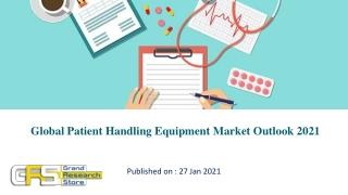 Global Patient Handling Equipment Market Outlook 2021