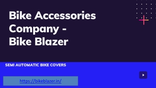 Splendor Bike Accessories - Bike Blazer