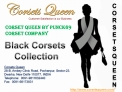 Cheap Black Corsets for Sale By Corsetsqueen.Com