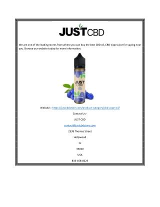 CBD Vapes | justcbdstore.com