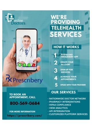 Telehealth Services-Virtual Medical Care