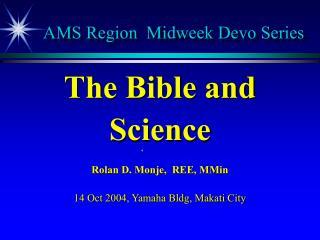 AMS Region Midweek Devo Series