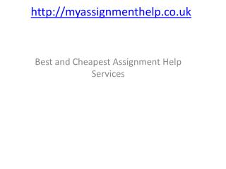 Assignment help with plagiarism free product