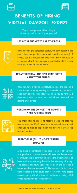 Benefits of Hiring a Virtual Employee for Payroll