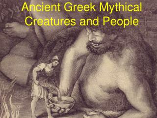 Ancient Greek Mythical Creatures and People