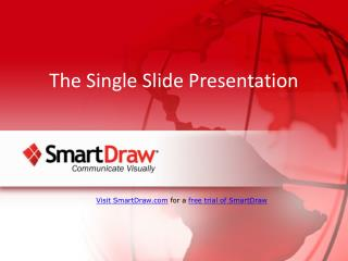 The Single Slide Presentation
