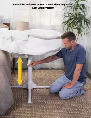 Behind the Embroidery: How HALO® Sleep Emphasizes Safe Sleep Practices