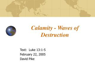 Calamity - Waves of Destruction