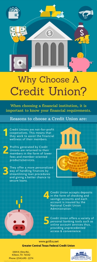 Why Choose A Credit Union?