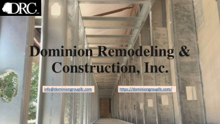 General Contracting and Commercial construction services