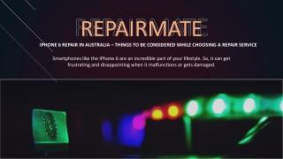 IPHONE 6 REPAIR IN AUSTRALIA