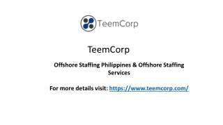 Offshore Hiring Services Philippines