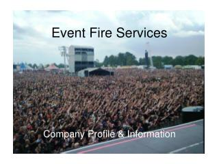 Event Fire Services
