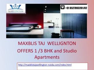 Maxblis Taj Wellington Sec 75 Noida – Call @ 8527993201/02
