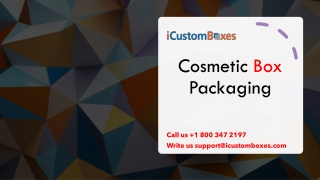 Avail of the Best Quality Mascara boxes with Free Shipping