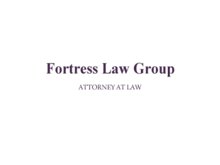 Fortress Law Group