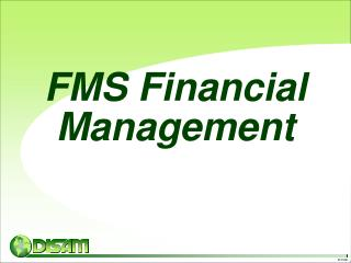 FMS Financial Management