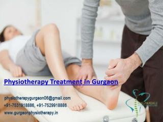Physiotherapy Treatment in Gurgaon